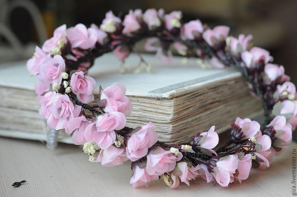 Купить искусственные цветы для венка на голову наценка на живые цветы