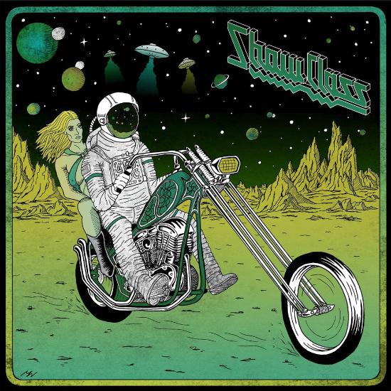 Космонавт на мотоцикле
