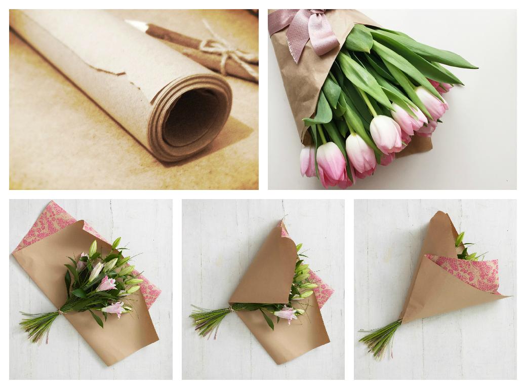 как красиво упаковать тюльпаны своими руками фото медицинской