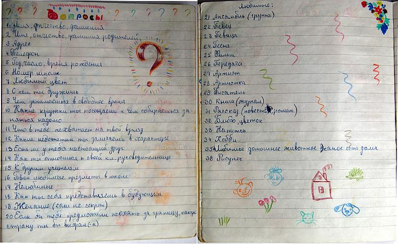 Как из тетради сделать дневник для девочек своими руками 214